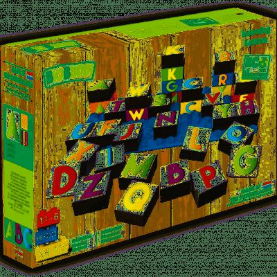 Foto van BiOBUDDi Bouwstenen Leer Letters Kennen - 36 delig
