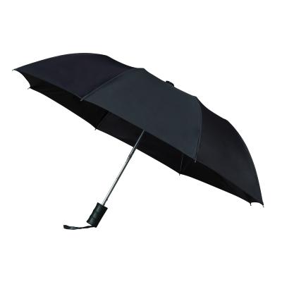 Foto van Impliva 2 delige Opvouwbare Paraplu GF512 Zwart