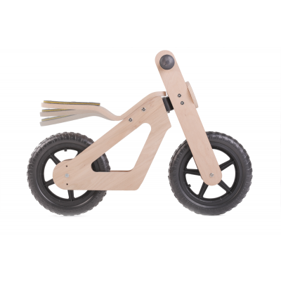 Foto van Mamatoyz Houten Tweewieler Loopfiets Balance Bike ***SHOWMODEL***