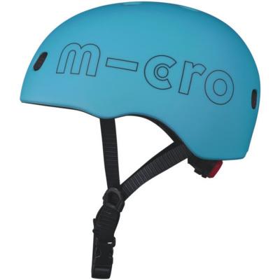 Foto van Micro Veiligheidshelm Deluxe Ocean Blue - Medium (52-56 cm)