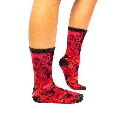 Sock My Feet Roses of Love Sokken