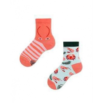Foto van Many Mornings Frutti di Mare Lage Mismatched Unisex Kids Sokken