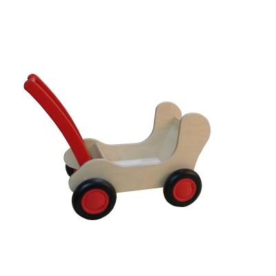 Foto van Combi Poppenwagen Rood - Van Dijk Toys