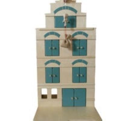 Pakhuis Vintage Blue - Van Dijk Toys
