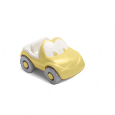 Dantoy Tiny BIOplastic Fun auto - Geel