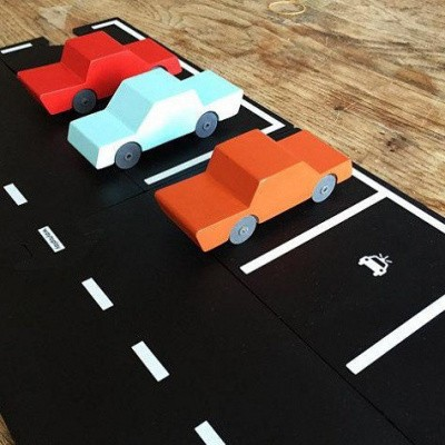 Foto van Waytoplay Parkeer, Parking Flexibele wegdelen Uitbreiding Set 2 delig