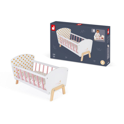 Janod Candy Chic Houten Poppenbed