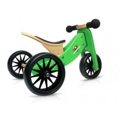Kinderfeets TinyTot Groen 2-in-1 Loopfiets - SHOW MODEL*