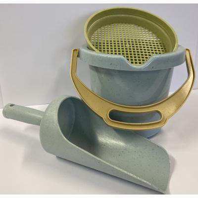 Dantoy BIOplastic Emmerset 3 delig (Emmer - Grutterschep - Zeef)