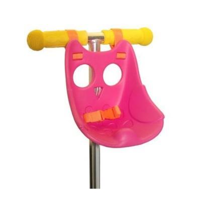 Foto van Micro Scootaseatz Kinderzitje Roze voor Pop of Knuffel