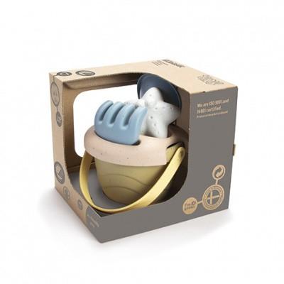 Dantoy Tiny BIOplastic Zandset - 5 delig in luxe giftbox