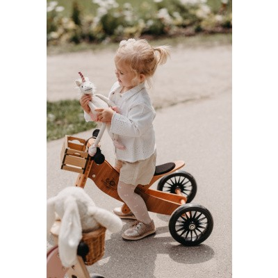 Kinderfeets TinyTot Bamboo PLUS 2-in-1 Loopfiets