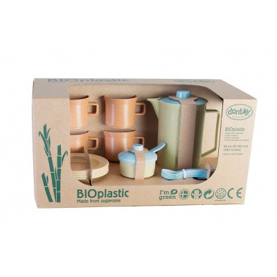 Dantoy BIOplastic Koffieset 17 delig in giftbox 5640
