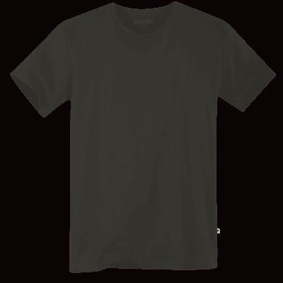 Foto van Terrax Heren Basic T-shirt Zwart