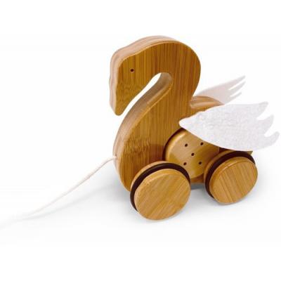 Kinderfeets Bamboo Trekfiguur Zwaan