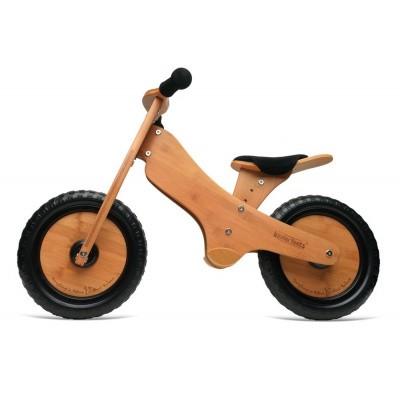 Foto van Kinderfeets Classic Bamboo Tweewieler Loopfiets *SHOW MODEL