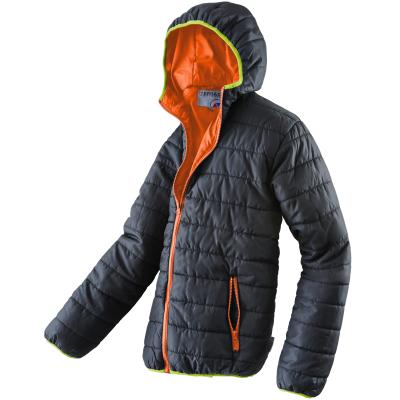 Terrax Vrijetijdsjas Met Capuchon 61537 Zwart/Lime/oranje