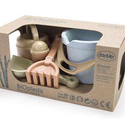 Dantoy BIOplastic Emmerset Pastelkleuren - 4 delig in luxe giftbox