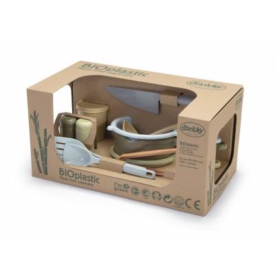 Foto van Dantoy BIOplastic Keuken Speelset - 11 delig in luxe giftbox