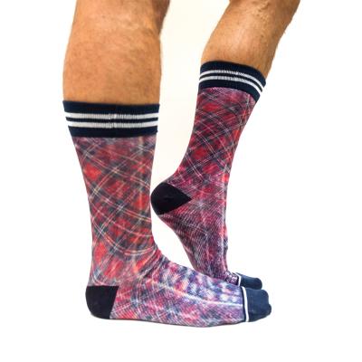 Sock My Feet Check Sokken