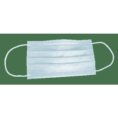 Beschermend Wegwerp Mondmasker Lichtblauw (verpakt per 50 stuks; (0% BTW)
