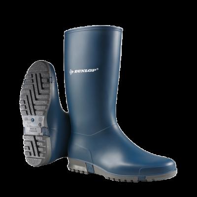 Dunlop Dames/Heren/Kinder Sportlaars Blauw (OP=OP)