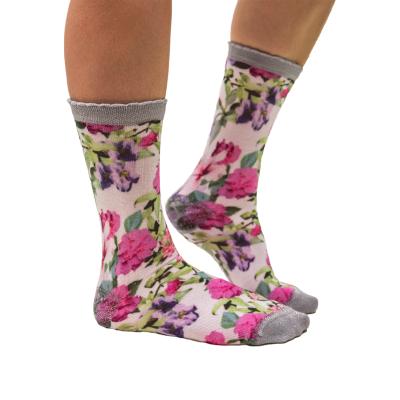 Sock My Feet Flowers Sokken