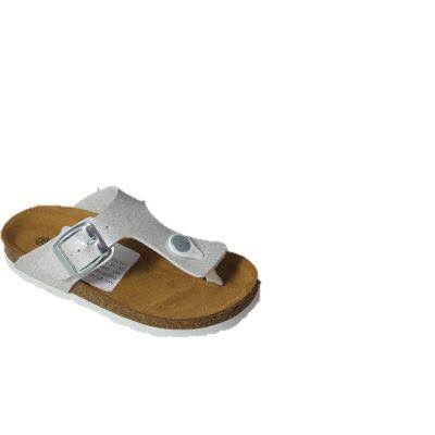 Foto van Lily Fashion Teenslipper 27/MT Wit/Glossy