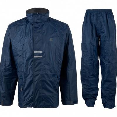Regenpak Senior 43SL Blauw/Zwart (OP=OP)
