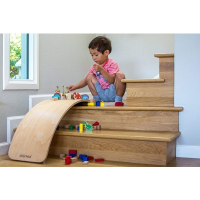 Foto van Kinderfeets Balance Board Naturel