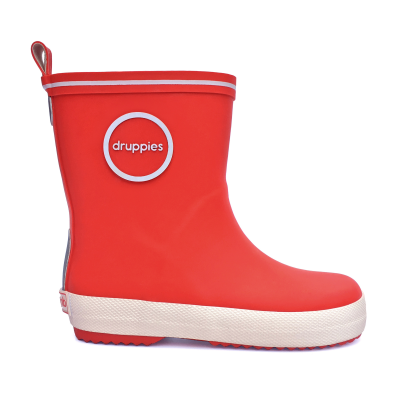 Foto van Druppies Fashion Boot 11023 Vuurrood Maat 20 t/m 39