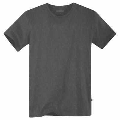 Foto van Terrax Heren Basic T-shirt Antraciet