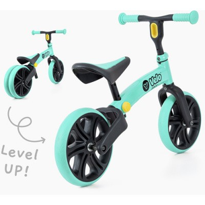 YVELO Junior Loopfiets Groen