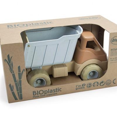 Dantoy BIOplastic Truck met Containerbak in luxe giftbox