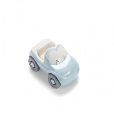 Dantoy Tiny Bioplastic Fun auto - Lichtblauw