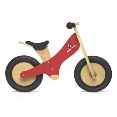 Kinderfeets Classic Rood Tweewieler Loopfiets
