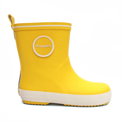 Foto van Druppies Fashion Boot 11023 Hardgeel Maat 20 t/m 39