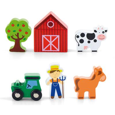 Viga Toys Boerderij Speelfigurenset - 7 delig