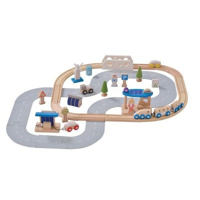 EverEarth Eco City Treinset 33591 - 50 delig