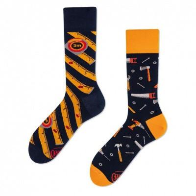 Many Mornings The Handyman Mismathed Unisex sokken