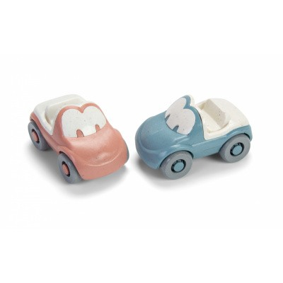 Dantoy Tiny Bioplastic Fun auto's - Set van 2 stuks