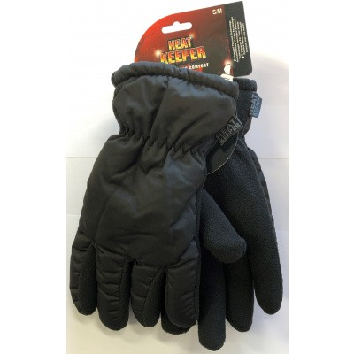 Heat Keeper Thermo Handschoenen Zwart 40323001