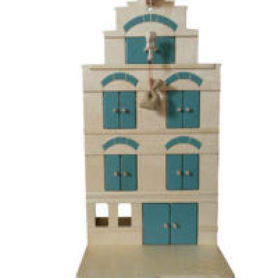 Pakhuis Vintage Blue - Van Dijk Toys ***SHOWMODEL***