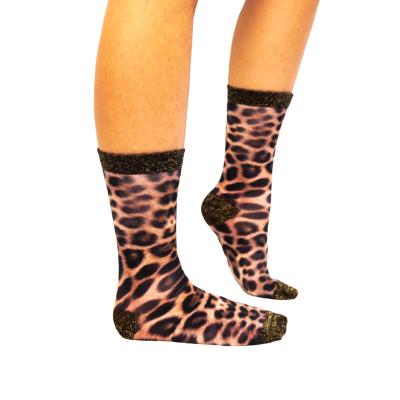 Sock My Feet Leopard Sokken