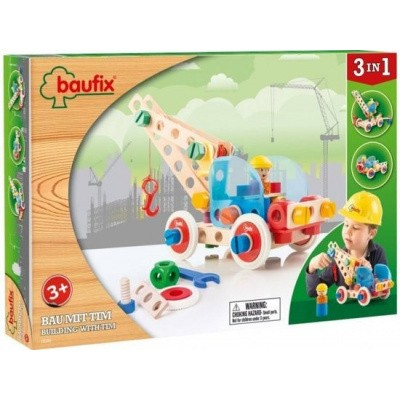 Foto van Baufix Building WithTim Bouwconstructie Set - 80 delig (10350)