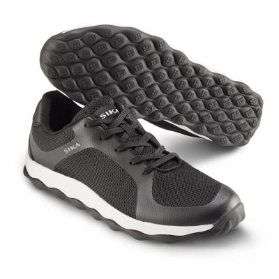 Foto van Sika Bubble 50011 Lage Sneaker Move Zwart/Wit (OP=OP)