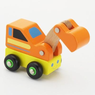 Viga Toys Houten Graafmachine