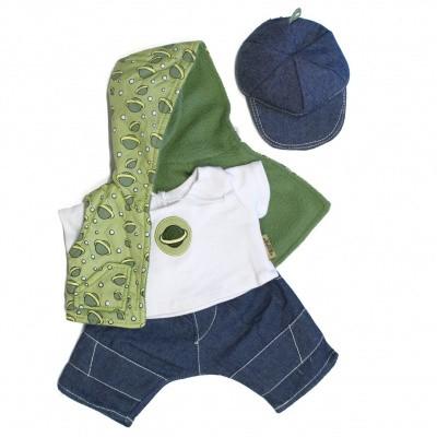 Foto van Rubens Barn Kids Poppenkleding set Happy Bleu Boy (let op: levertijd binnen 7 dagen)