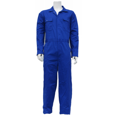 Foto van Top Rock Kinderoverall KOV6535-003 rally poly/kat Blauw