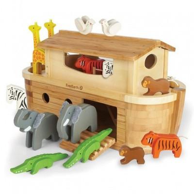 Foto van EverEarth Grote Ark van Noach met 14 dieren
